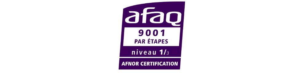 Bannière ISO9001 - CREATHES spécialiste en microencapsulation de la R&D à la production