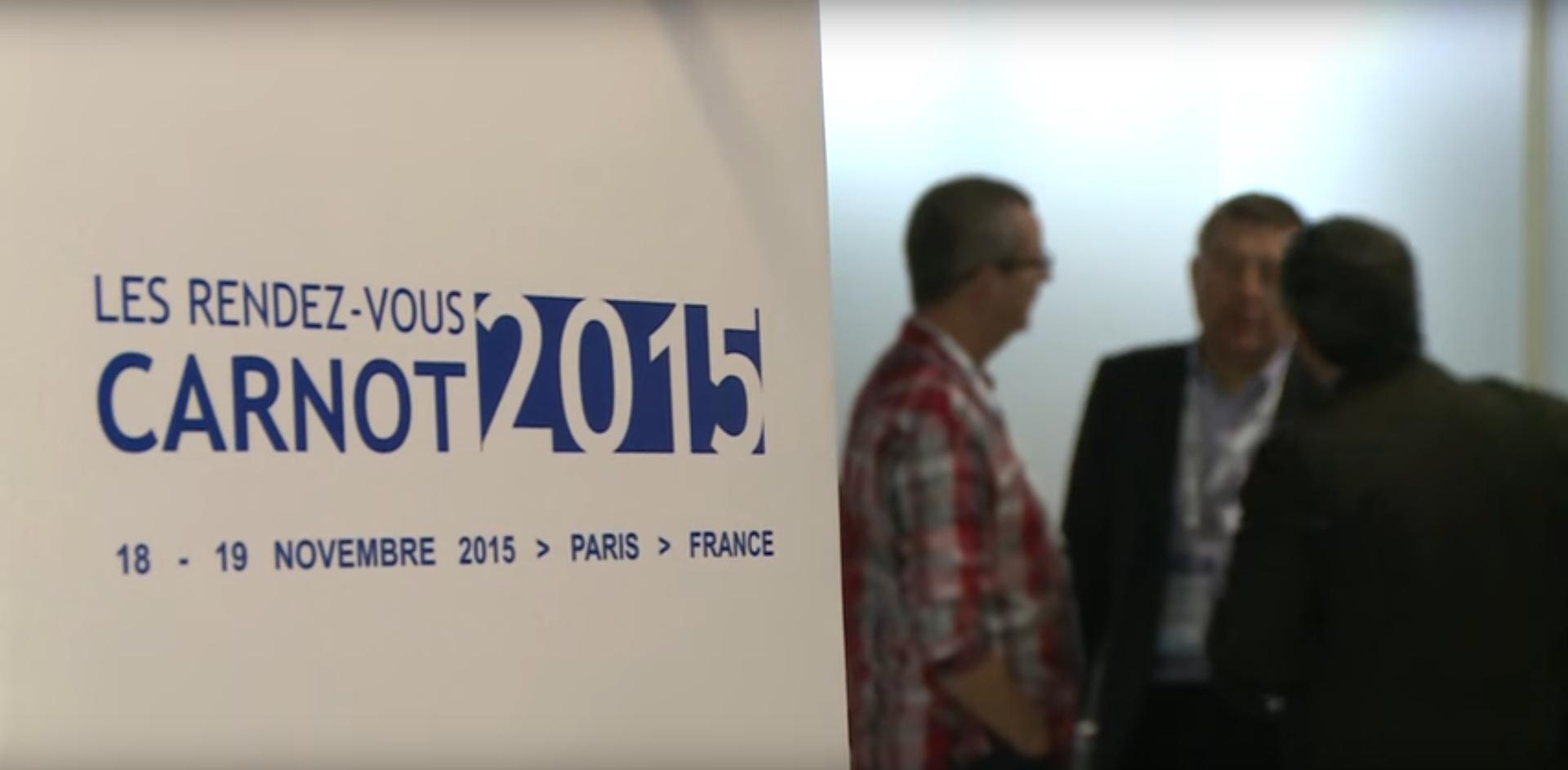 CREATHES était présent aux RDV CARNOT 2015